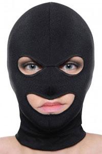 Maskers met oog en mond opening