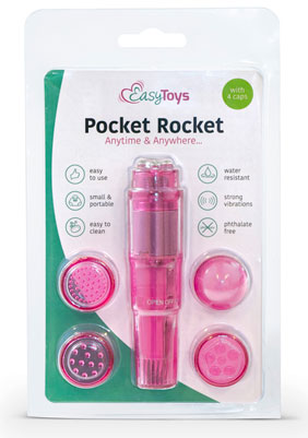 Pocket Rocket mini massagers