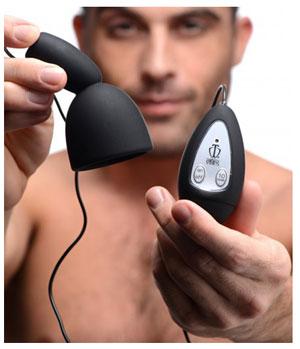 Deluxe eikel vibrator met afstandsbediening