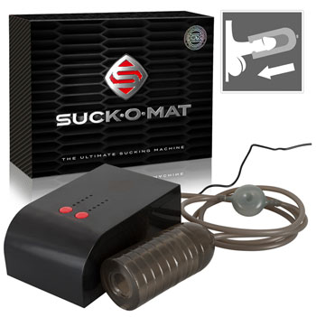 Suck-O-Mat - Handsfree blowjob machine
